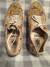 Vans Disney Winnie The Pooh Canvas Shoes Men's Size 10.5 EUR 44 Women 12