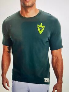 Under Armour Mens Project Rock Same Game Different Levels Forest Green, XL