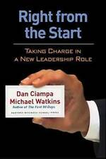 RIGHT FROM THE START by Dan Ciampa; Michael Watkins USED GD - FAST POST