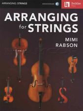 Arranging for Strings Sheet Music Book/Audio by Mimi Rabson Violin Viola Cello