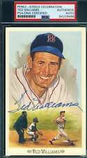 Ted Williams PSA DNA Coa Autograph Signed Perez Steele Celebration Autograph