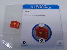 HEROCLIX MARVEL IRON MAN BRIEFCASE ARMOR PROMO L.E.  NEW!!! HC43
