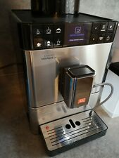 Melitta Caffeo Varianza CSP - Kaffeevollautomat - Edelstahl - One touch