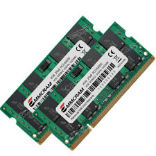 8GB KIT 2x4GB PC2-6400 DDR2-800MHz 200pin SO-DIMM For DELL XPS m1330 m1530 m1730