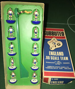 SUBBUTEO HP LW ZOMBIE REF 317 ENGLAND MINT CONDITION IN C500 JUBILEE BOX