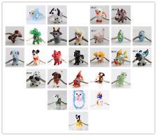 1P SILVER MURANO GLASS BEAD LAMPWORK Animal Fit European Charm Bracelet 55 items