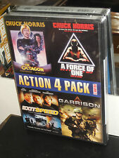 The Octagon / A Force Of One / Exitspeed / Garrison (DVD) Chuck Norris, NEW!