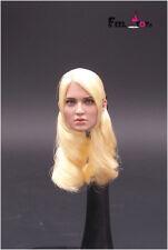 "Fd001 1/6 buzzsucker Punch Baby doll head carved Female Head Model F 12"" PH Body"