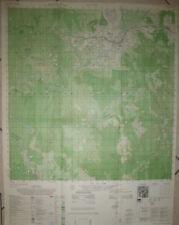 6736 iv - RARE MAP - AN KHE - GOLF COURSE - Camp Radcliff - 1969 - Vietnam War