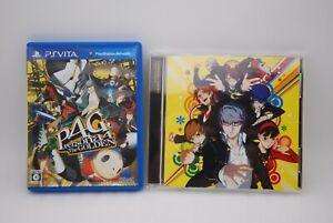 PS VITA Persona4 The Golden w/ Original Soundtrack CD Japan import P4 P4G ATLUS