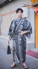 Authentischer japanischer traditioneller Kimono mit Gürtel für Männer