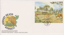 Unaddressed Guernsey FDC Cover 1992 RGA & HS Agricultual & Horticultural