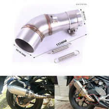 Motorcycle exhaust middle pipe stainless steel Connecting link pipe adapter