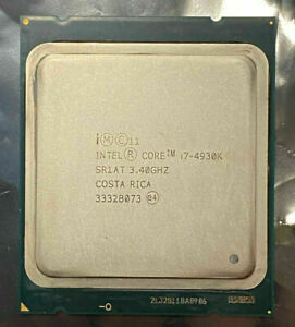 Intel Core i7-4930K 3.40GHz Six Core SR1AT CPU Processor