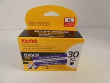New OEM  2 Pack Kodak 30XL 30B Black High Capacity Ink Inkjet Cartridge