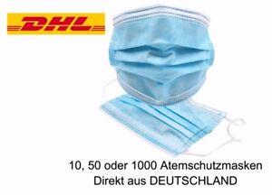 Mundschutz Maske Gesichtsmaske Filtermaske 3 Lagig Schutzmaske Atemschutz