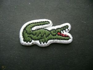 Beautiful Lacoste Embroidered Sports Badge Iron On Sew On Clothes Jacket Jeans