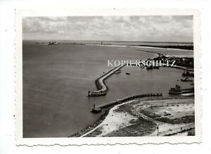 (p18) Frankreich Atlantik Le verdon b. Royan Hafen Kriegsmarine Schiff Boot
