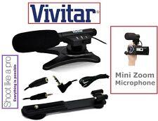 New Professional Mini Condenser Microphone For Canon Vixia HF 20