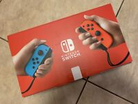 Nintendo Switch 32GB Console w/ Neon Red and Blue Joy-Con ⭐️IN HAND⭐️SHIPS NOW