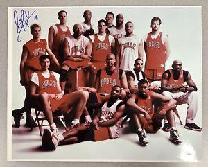 Dennis Rodman Signed Photo 16x20 Basketball Bulls Auto Michael Jordan HOF JSA