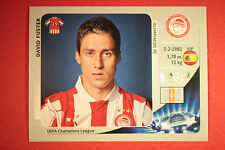 PANINI CHAMPIONS LEAGUE 2012/13 N.133 FUSTER OLYMPIACOS BLACK BACK MINT!