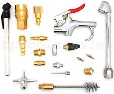 Pneumatic 18 Pc Air Tool Accessory Blow Gun Set Air Compressor Blow Kit NEW