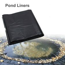 Multi Size Fish Pond Liner Heavy Duty HDPE Pool Waterproof Reinforced Landscape