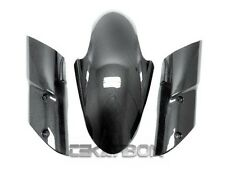 2010 - 2012 Kawasaki Z1000 Carbon Fiber Front Fender 3pc - 1x1 plain weave