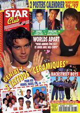 Magazine STAR CLUB n°106, W.A, BOYZONE, Dean CAIN, BACKSTREET BOYS, NO MERCY, 3T
