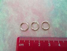 3 Silver 11mm Nose Rings Infinity Rings Endless Hoop Earrings