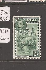 Fiji KGVI 1/2d Ship SG 249a P14 MOG (7avv)