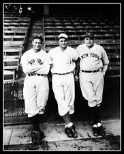 Babe Ruth Lou Gehrig Jimmie Foxx Photo 8X10  Yankees A's  Buy Any 2 Get 1 FREE