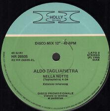 ALDO TAGLIAPIETRA - Dance Story / Nella Notte - Holly