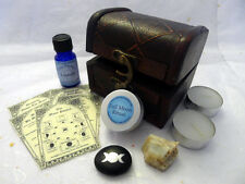 LUNAR MAGICK CHEST kit set wicca wiccan pagan spell full moon ritual drawing