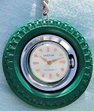 VECTOR orologio portachiavi forma pneumatico in perfette condizioni