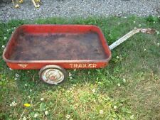 VINTAGE AMF MODEL , PEDAL TRACTOR, TRICYCLE, WAGON, TRAILER,