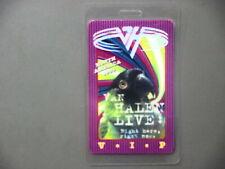 Van Halen backstage pass Laminated tour pass North America '93 silver foil logo!