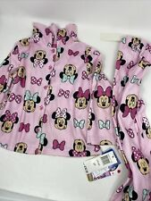New listing Disney Toddler Girls Minnie Mouse Flannel Pjs 2 Piece Set 3T
