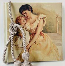 Terra Traditions Woman Angelic Child Photo Album Never Used Tassle Original Box