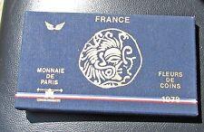 France 1978  FDC   Monnaie De Paris Fleurs De Coin COA & Box