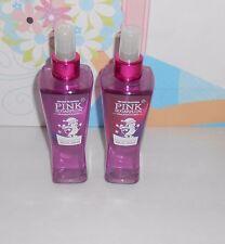 Bath & Body Works Original Pink Sugarplum Fragrance Mist 8 Oz. X 2 NEW RARE
