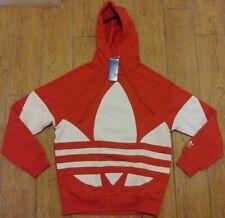 Adidas Big Trefoil Hoodie FM9907 Lush Red Men's Size Medium