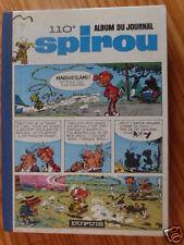 ALBUM SPIROU RELIURE DU JOURNAL N°110 de 1968 EN  BON  ETAT(VOIR DESCRIPTIF)