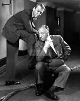 8x10 Print Alfred Hitchcock MGM Set Candid #AHME
