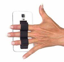 LAZY-HANDS 3-Loop Phone Grip - BLACK
