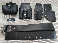 Scaffolding Black Strong leather Tool Belt work professional Heavy Duty Quality
