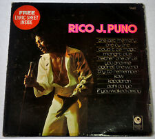 Philippines RICO J. PUNO Self-Titled OPM LP Record