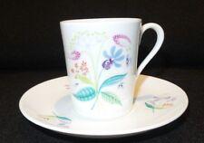 Vintage Gustavsberg Sweden Benporslin Florette Demitasse Tea cup & Saucer #27