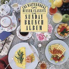 CBS Masterworks Dinner Classics: Sunday Brunch Album CD CBS Masterworks FBC37